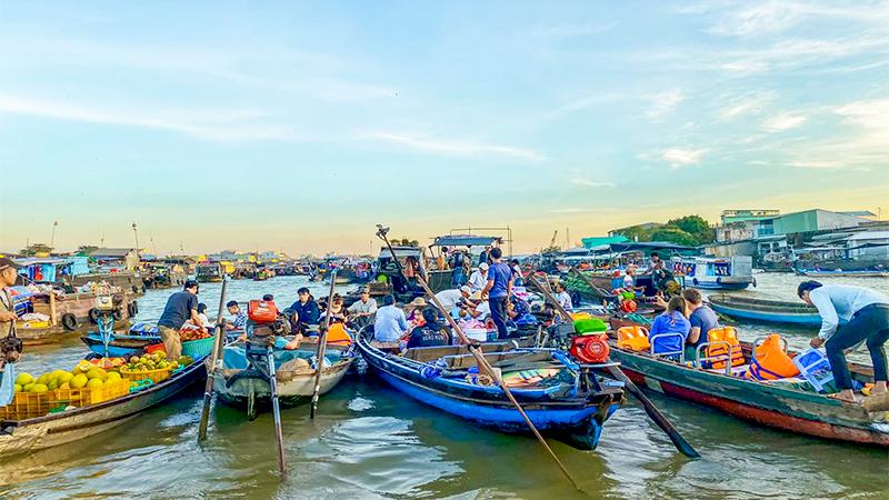 Du lịch Chợ nổi Cái Răng | Điểm đến hấp dẫn miền Tây sông nước